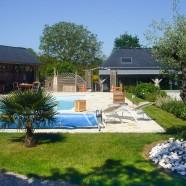 Gite rural 5 étoiles avec piscine à Bazouges