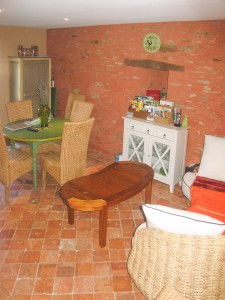 gite rural villa 1 salon