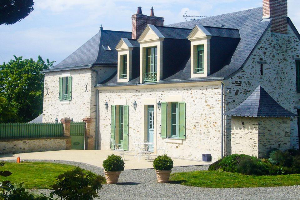 villa 1 gite rural de charme en Mayenne